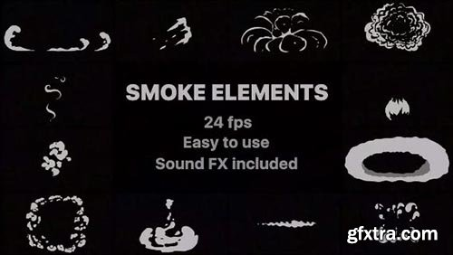 Flash FX Smoke Elements - After Effects 78514 » GFxtra