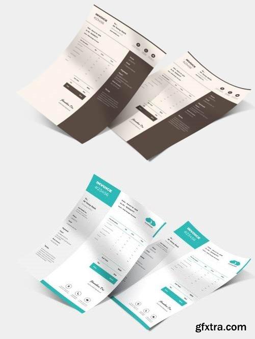 Minimal Clean Invoice