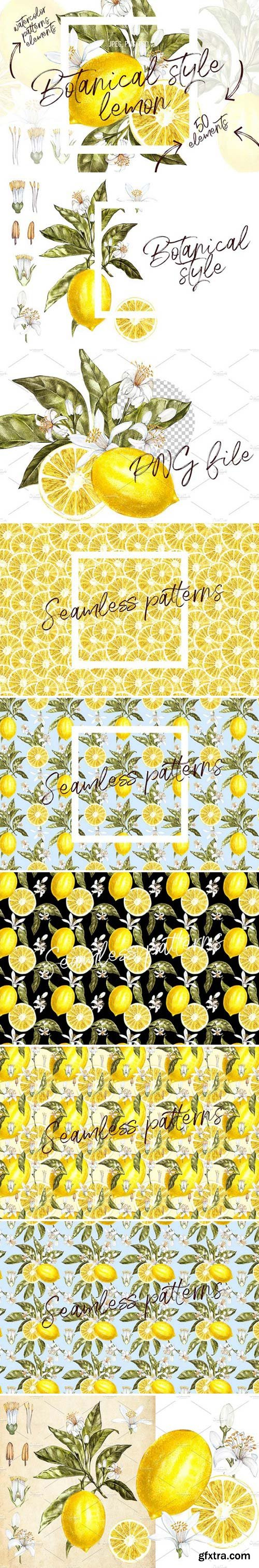 CM - Lemon in botanical style 1566845