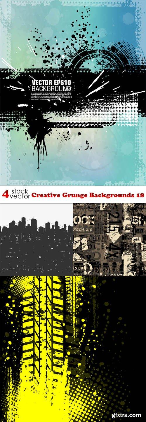 Vectors - Creative Grunge Backgrounds 18