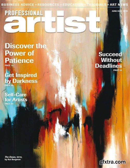 Professional Artist - June/July 2018