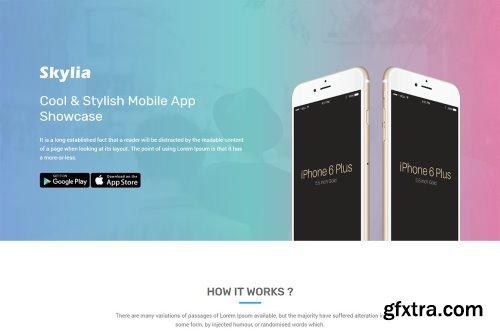 CM - Skylia - Responsive App Landing 1602765