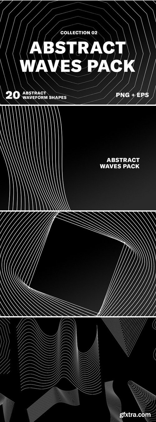 CM - Abstract Wave Pack 02 2431283