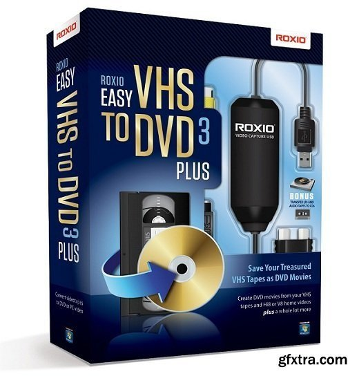 Roxio Easy VHS to DVD Plus v3.0 Multilingual