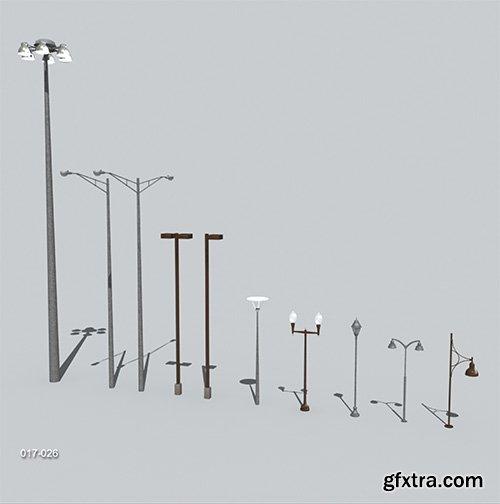 DigitalXModels - 3D Model Collection - Volume 5: TRAFFIC