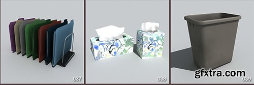 DigitalXModels - 3D Model Collection - Volume 6: OFFICE