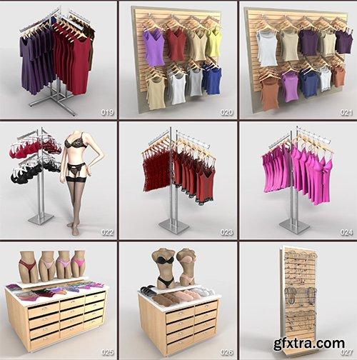 DigitalXModels - 3D Model Collection - Volume 12: CLOTHING 2