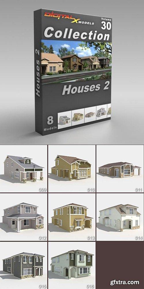 DigitalXModels - 3D Model Collection - Volume 30: HOUSES 2