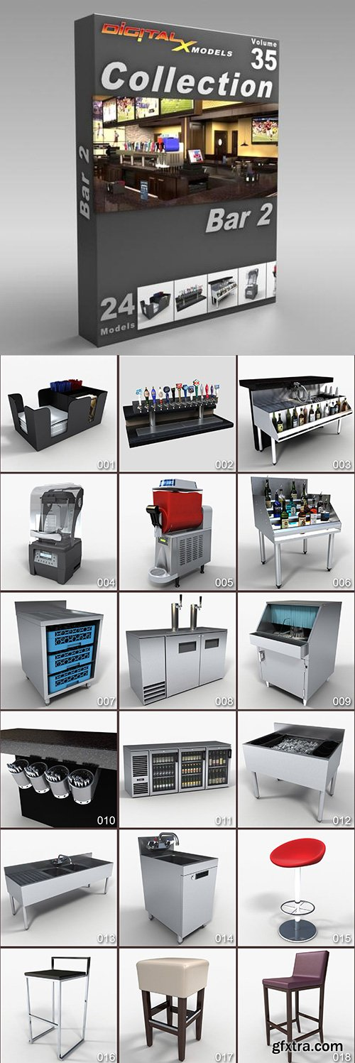 DigitalXModels - 3D Model Collection - Volume 35: BAR 2