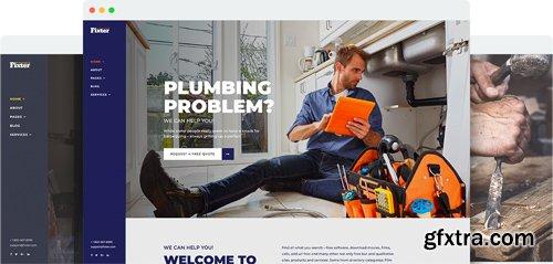 JoomShaper - Fixter v1.0 - Joomla Template for Home Maintenance and Handyman Service Websites