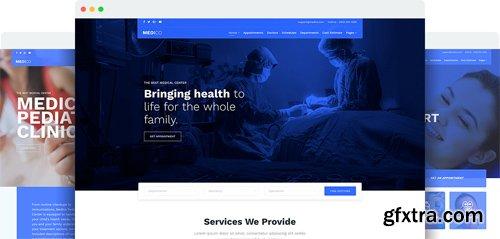 JoomShaper - Medico v1.3 - Joomla Template for Hospital, Medical Clinic & Healthcare Sites