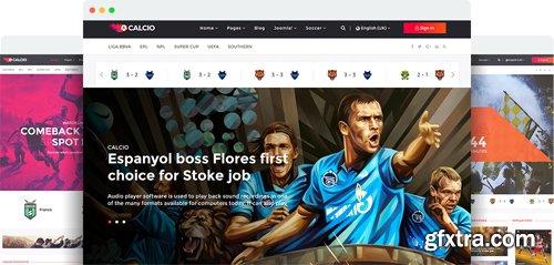 JoomShaper - Calcio v1.0 - Joomla Template for Soccer News & Football Club Websites
