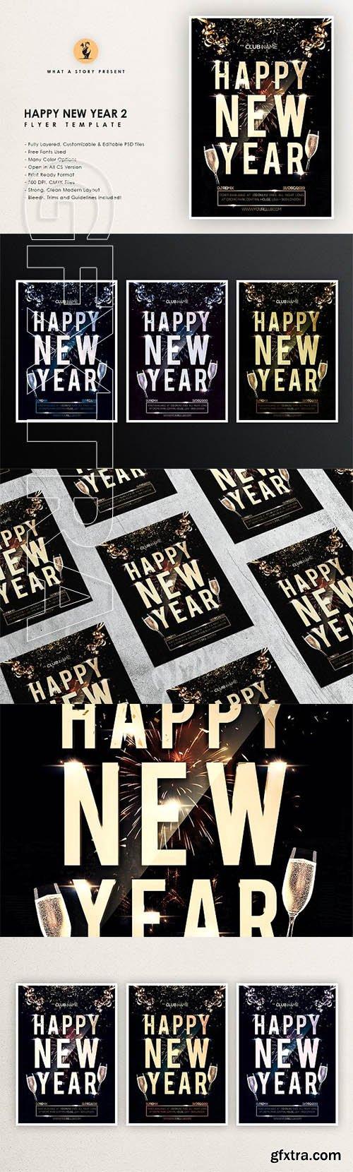 CreativeMarket - New Year Party 2 2473486