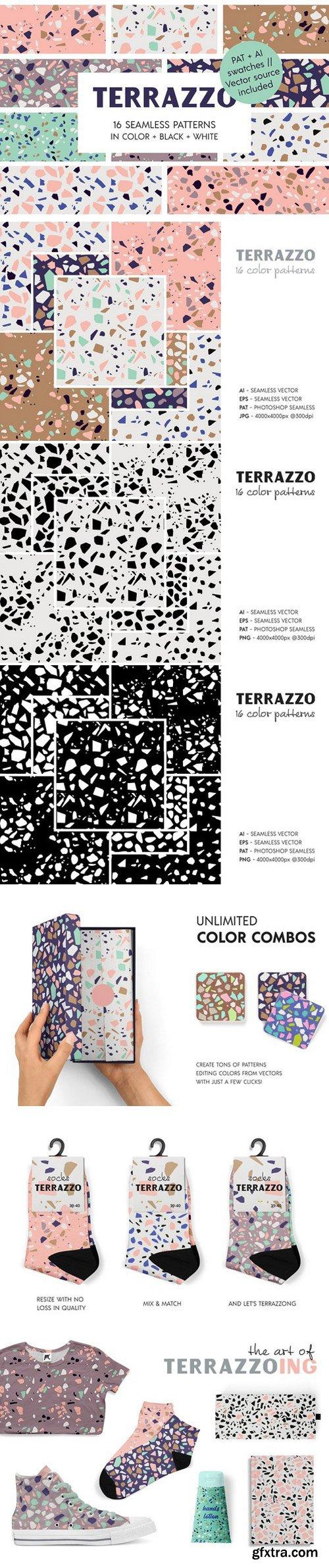 CM - Terrazzo Seamless Patterns 2430234