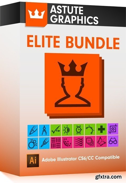 Astute    Graphics Plug-ins Bundle 1.2.2/1.1.6 for Adobe Illustrator + Pro    Texture Packs    (Win/Mac)