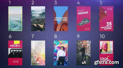Instagram Stories Pack - Premiere Pro Templates 78678