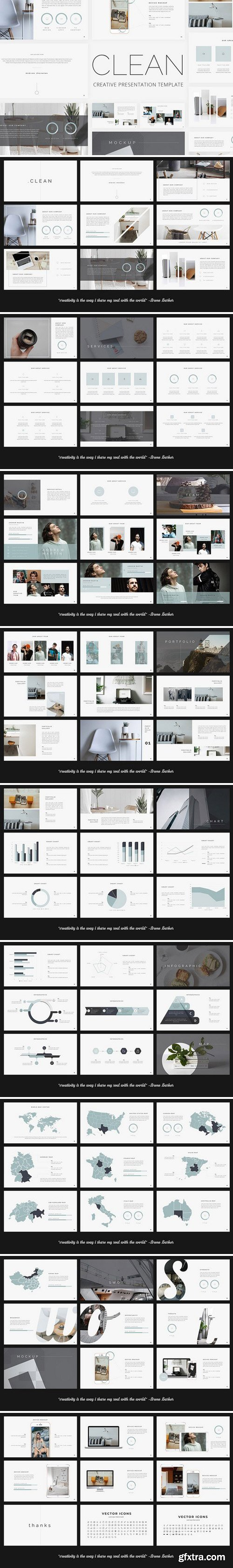 CM - Clean - Creative Google Slides 2458677