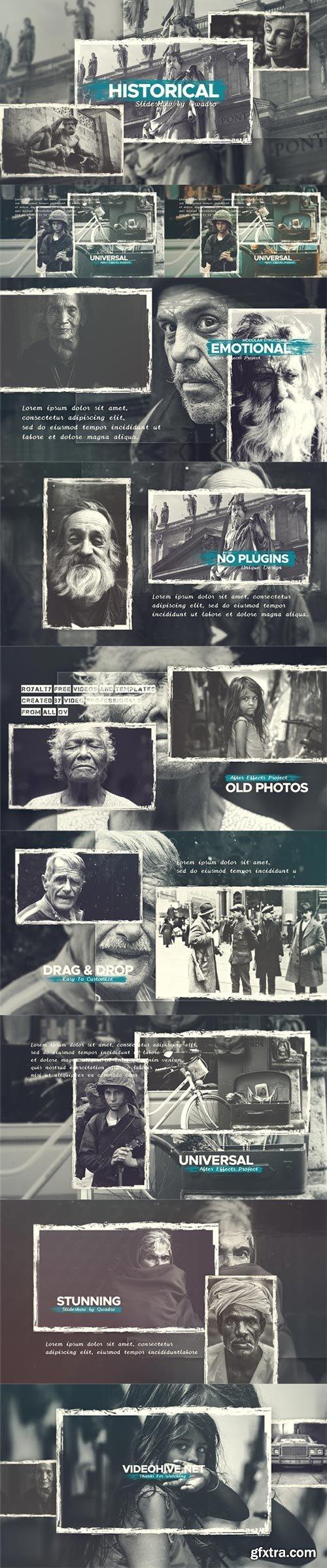 Videohive - Historical Vintage Documentary Slideshow - 21783704