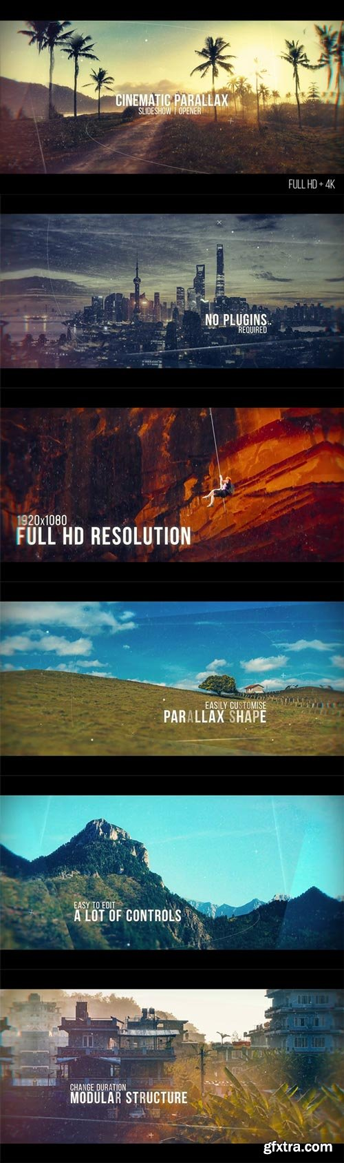 Videohive - Cinematic Parallax Slideshow - 20481472