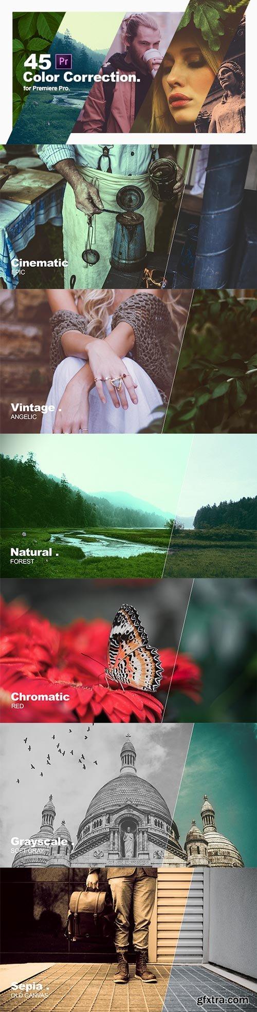 Videohive - Color Correction & Color Grading Presets for Premiere Pro - 21777710