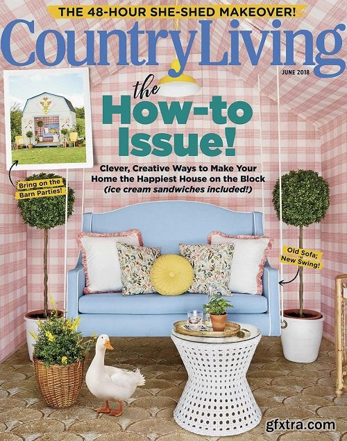 Country Living USA - June 2018