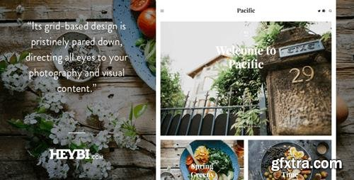 ThemeForest - Pacific v1.0 - Big Bold Photography-Driven Theme - 19774541