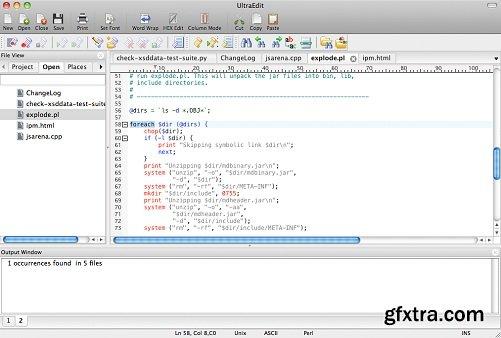 UltraEdit 18.00.0.19 macOS