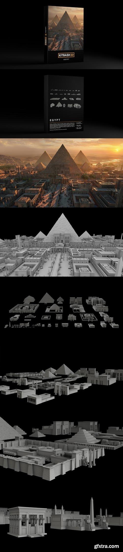 Kitbash3D - EGYPT
