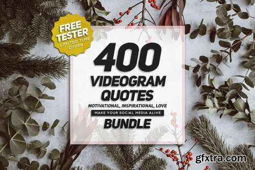 CreativeMarket VIDEOQUOTES Bundle 2382506