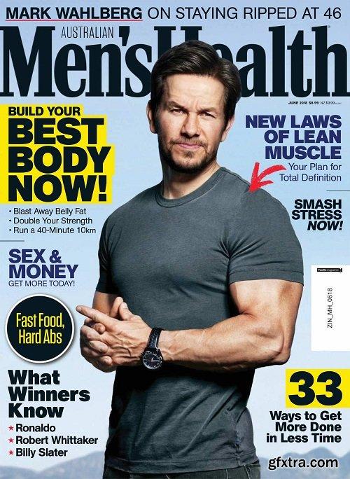 Men\'s Health Australia - June 2018