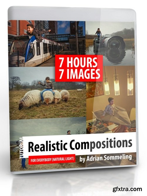 Adrian Sommeling Photography - Realistic Compositions for everybody (Natural light)