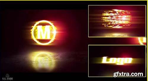 Fiery Glitch 3D Logo - Premiere Pro Templates 79532