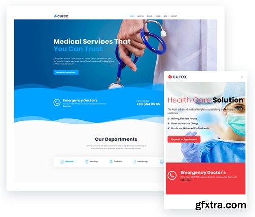 ThemeXpert - Curex v1.0 - Medical Joomla Template