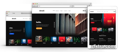 RocketTheme - Denali v1.0.1 - Joomla Template