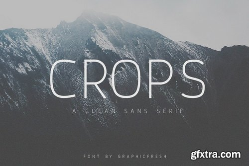 Crops Font Family