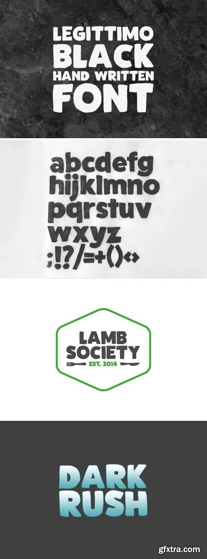 CM - Legittimo Black - Font 2159626