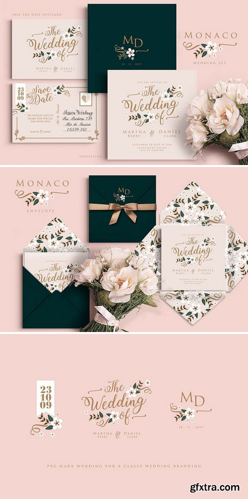 CM - Monaco Wedding Set 2458874