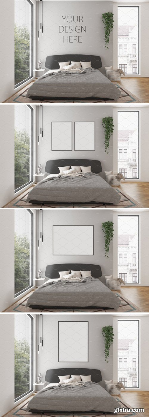 CM - Interior mockup - artwork background 2458220