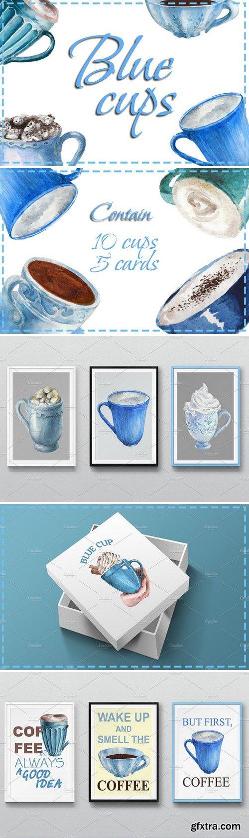 CM - Blue cups 2334402