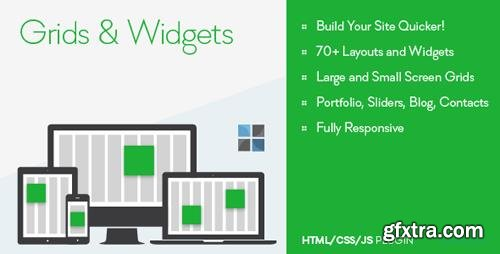 CodeCanyon - Grids and Widgets v1.0 - HTML/CSS/JS - 9819833