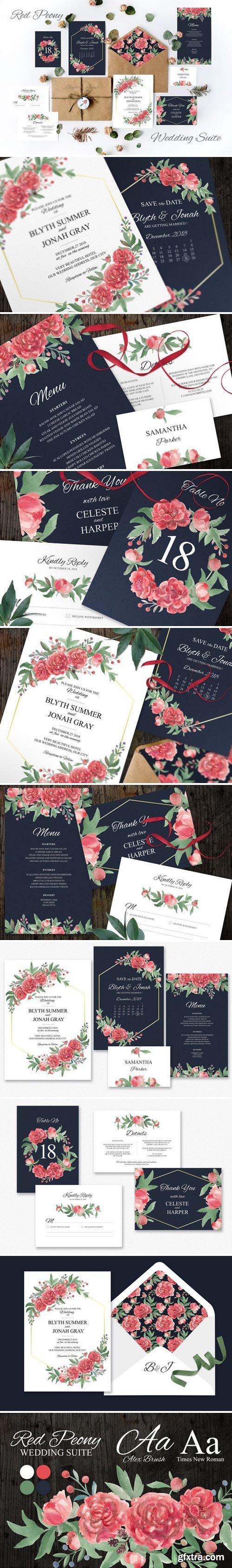 CM - Red Peony Wedding Suite 2458091