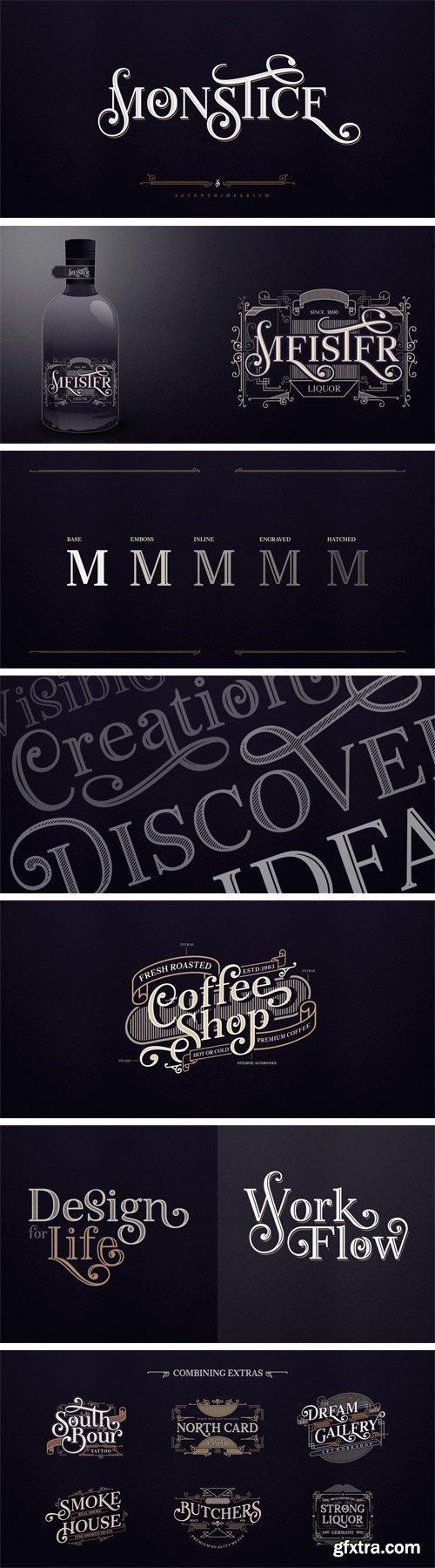 Monstice Font Family