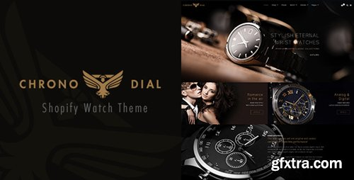 ThemeForest - Chrono Dial v1.0 - Watch Shopify theme (Update: 2 February 18) - 21032210
