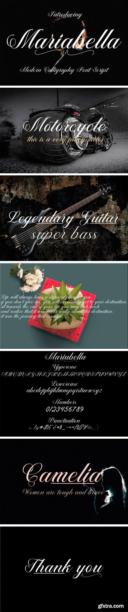 Creativefabrica - Mariabella