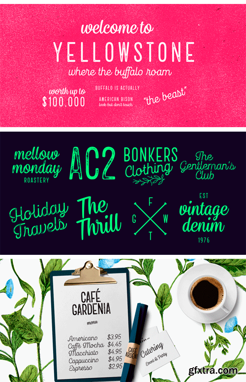Goodwater Font Family