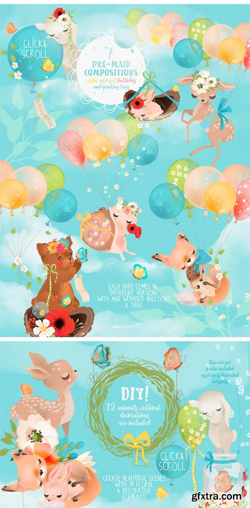CM - Woodland Babies 2390314