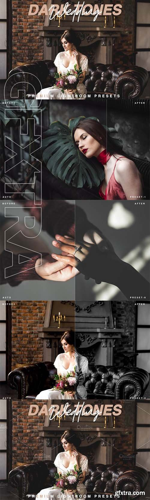 CreativeMarket - Dark Tones Wedding Lr Presets 2534862..