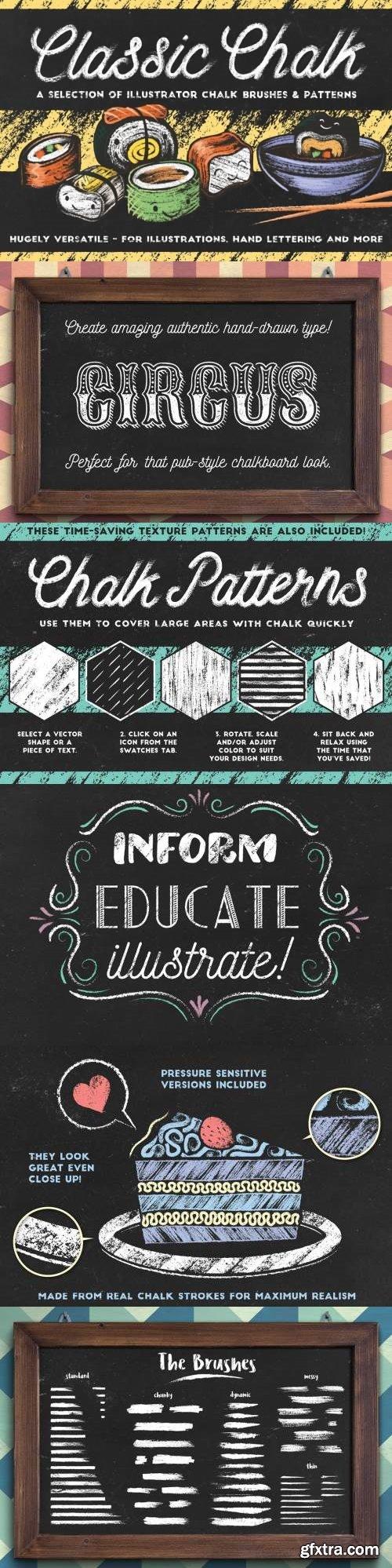 Classic Chalk - Brushes + Patterns
