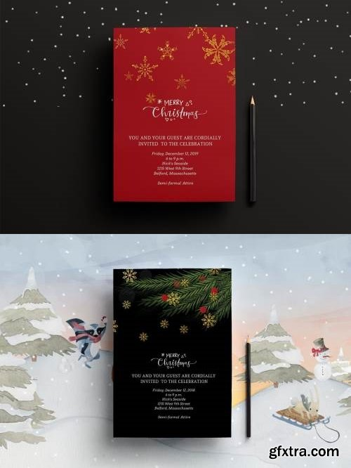 Christmas Party Invitation/Flyer