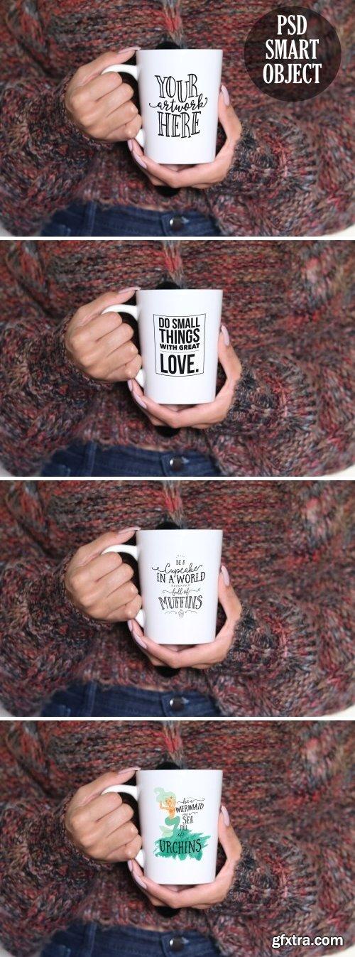 CM - CHERRY NOIR Feminine Mug Mockup 2160771 ..